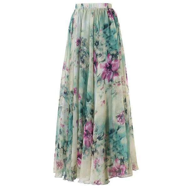 Hijab Modesty Istanbul - Boho Style Long Floral Ch