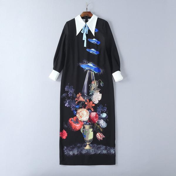 Hijab Modesty Istanbul - Long Sleeve Floral Print