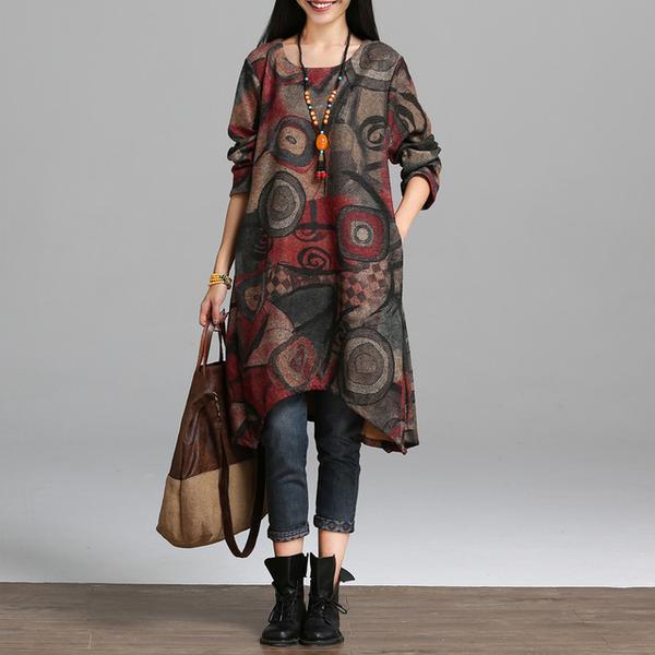 Hijab Modesty Istanbul - Long Sleeve Tunic Dress