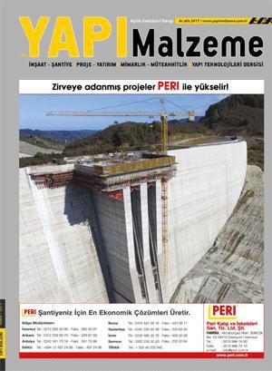 Yapı Malzeme Dergisi Yıllık Abonelik (12 Sayı)