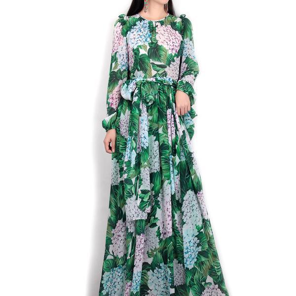 Hijab Modesty Istanbul - High Quality  Maxi  Flora