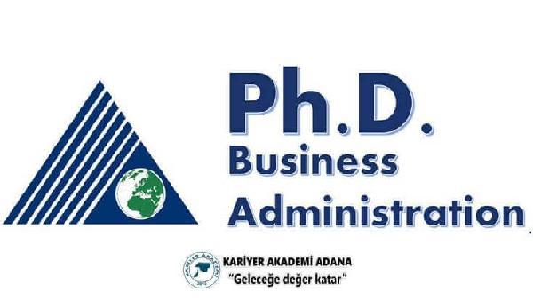[Kariyer]-İşletme (Ph.D) Doktora