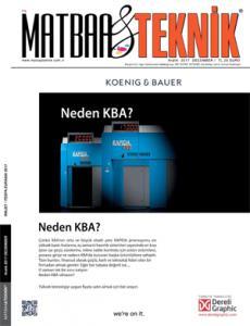 Matbaa Teknik Dergisi Yıllık Abonelik (12 Sayı)