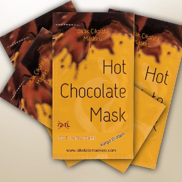 4 Adet Çikolata Maskesi (56TL Kargo Bizden)