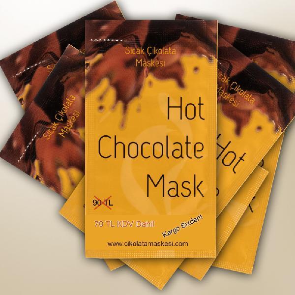 5 Adet Çikolata Maskesi (70TL Kargo Bizden)